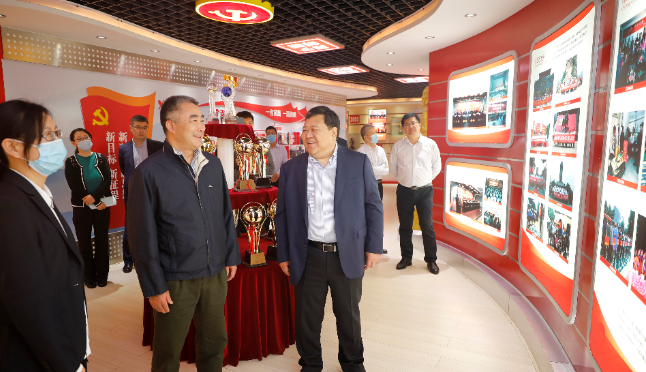 Party Secretary and General Manager Chang Chuan of CITIC Shandong Branch visited Dejian Group
